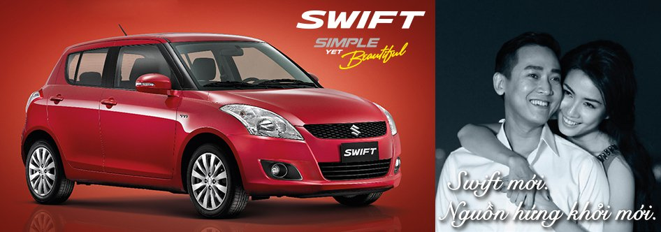 Suzuki Swift đỏ