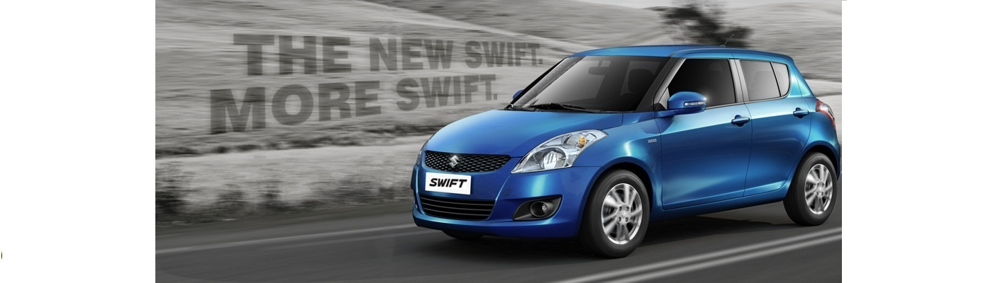 Suzuki Swift xanh